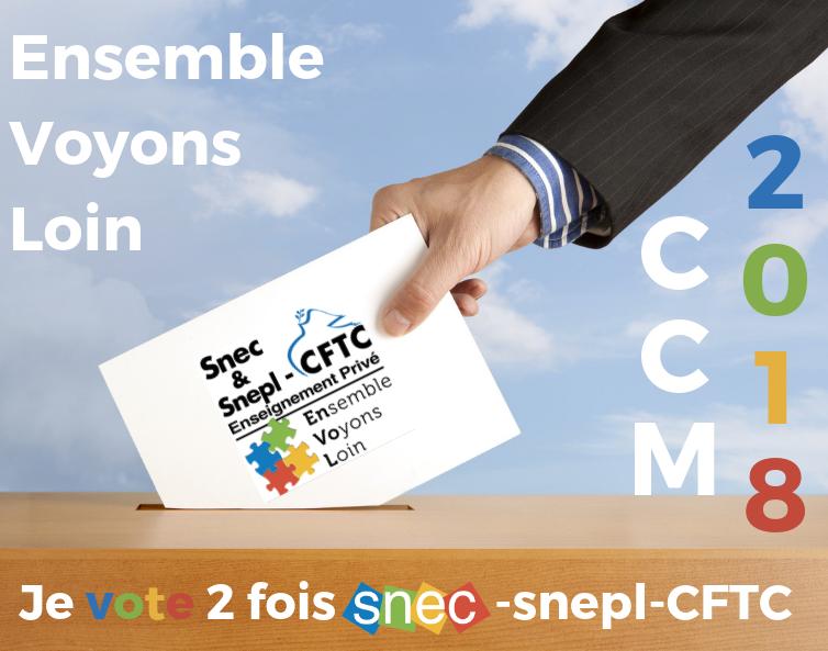 CCM 2018 : Le Snec-CFTC défend votre carrière